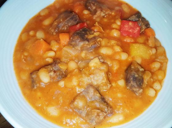 Navy beans cassoulet