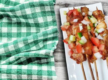 chicken thigh kebabs